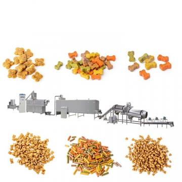Hot Sell Dry Animal Feed Equipment New Condition Pet Dog Food Mill Plant Pet Dog Feed Pellet Processing Machine