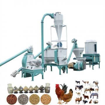 Energy Saving Electric Agricultural Waste Animal Feed Pellet Making Machine Price