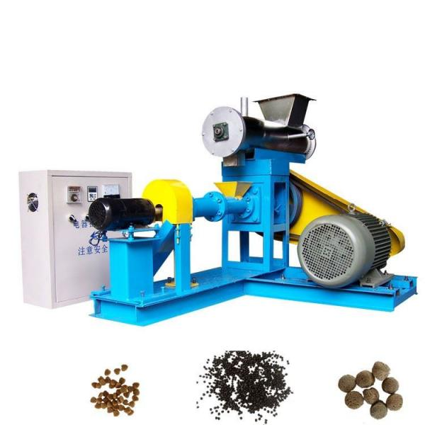 Automatic Wet Pet Dog Food Pellet Food Manufacturing Production Equipment.
