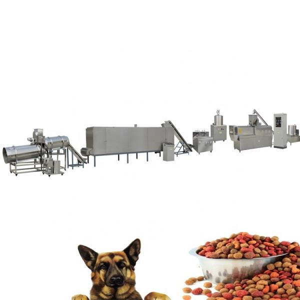 Automatic Extruded Dog Food Feed Pellet Making Machine
