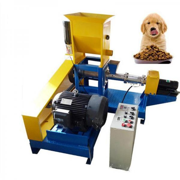 Dry Animal Pet Dog Cat Floating Sinking Fish Feed Pellet Production Snack Food Processing Making Extrusion Extruder Machine