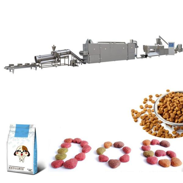 Low cost cat/dog food production corn snack extruder line